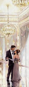 Ballroom Dance Painting - Just The Two Of Us by Steve Henderson