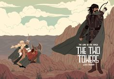 The Hobbit & Lord of the Rings Illustrations Created by Sara Kipin.