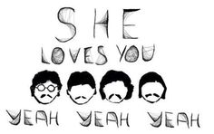 She loves you yeah yeah yeah - The Beatles - Lyrics - Music - Beatles Songs, The Beatles, Beatles Quotes, Beatles Art, All You Need Is Love, Love Her, Make Me Happy, Make Me Smile, She Loves You