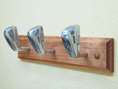 Vintage Wilson Blueridge Golf Club Heads Coat Rack by TheFletcherStudios on  Etsy Golf Clubs 0252805c625d