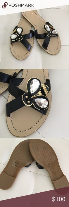 KATE SPADE ♠️ NEW YORK SANDALS SIZE 6M NWOT Stunning Kate Spade ♠️ New York Sandals in size 6m, I'm so sad 😭 they are not my size! kate spade Shoes Sandals