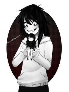 Discovered by yuki. Find images and videos about creepypasta and jeff the killer on We Heart It - the app to get lost in what you love. Jeff The Killer, Creepypasta Slenderman, Creepy Pasta Family, Eyeless Jack, Creeped Out, Laughing Jack, The Killers, Arte Horror, Horror Movies
