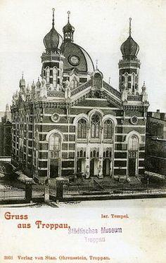 Synagogue de Troppau (1896-1938) — Wikipédia