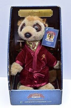 The original box shows signs of wear/scuffing, as seen, however, Aleksandr is in good condition. Choose either or Class. Christmas Stocking Fillers, Christmas Stockings, Baby Meerkat, Blue Nose Friends, Toy Boxes, Secret Santa, Conditioner, Plush, Africa