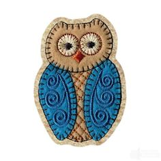 Free Owl Embroidery Design from Amazing Designs
