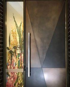 Super Ideas for main door design modern decor Modern Entrance Door, Main Entrance Door Design, Modern Wooden Doors, Front Door Design Wood, Contemporary Doors, Wooden Door Design, Wood Doors, Entry Doors, Porte Design