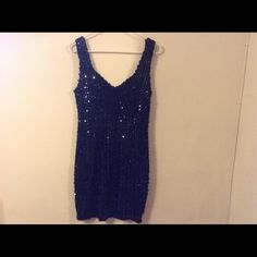 Black Sequin Dress Stunning Black Sequin Dress. Great for party's. Dresses