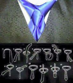 Learn how to tie a tie with the Windsor, necktie knots by step-by-step video. Cool Tie Knots, Cool Ties, Tie A Necktie, Necktie Knots, Tie Styles, Sharp Dressed Man, Men Style Tips, Suit And Tie, Men Dress