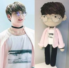 Hottest Absolutely Free amigurumi doll bts Tips Doll Bts Jin Best Ideas Crochet Doll Tutorial, Crochet Dolls, Got7, Bts Fans, About Bts, Amigurumi Doll, Amigurumi Patterns, Bts Jungkook, Bts Memes