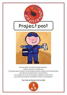 Compleet project met reken-, taalactiviteiten en meer rondom het thema Post. Door Els en Anke