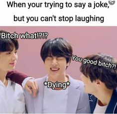 This book includes all funny BTS Memes and which… Hello friends. This book includes all funny BTS Memes and which are really very funny and relatable. V Taehyung, Namjoon, Jimin, Kookie Bts, Bts Memes Hilarious, Funny Relatable Memes, Funny Memes About Friends, Funny Dad Jokes, Best Dad Jokes