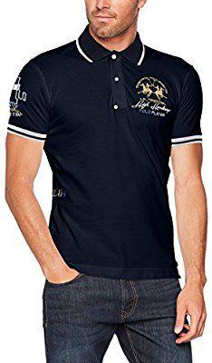 La Martina Man Polo S//S Piquet Str Hombre