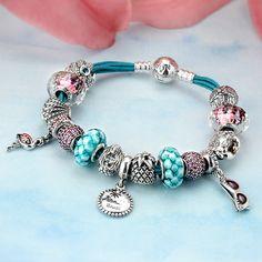 Pandora Seaside Charm Bracelet | www.goldcasters.com
