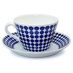 Gustavsberg ADAM(グスタフスベリ アダム)私の一番のお気に入りのコーヒーカップ。