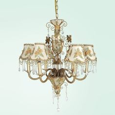 lowes lighting chandelier | Bethel International AW90 6 Light Daphne Chandelier