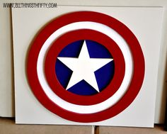 Benson (my friend's little boy) has three favorite super heroes. They are Superman, Batman, and Captain America. So that is how we came up with which three designs to use for his room! This one is a little more complicated,Read More