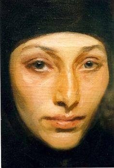 John Singer Sargent's An Egyptian Woman - Detail