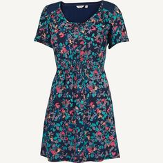 Talbot Smudge Floral Tunic at Fat Face