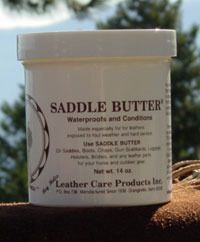 Saddle Butter works on all fine, top-grained leather. It has a close to neutral pH and will cause little to no discolouration of leather (always do a patch test first!). The ultra-fine texture won't leave your tack feeling tacky or rub off onto your clothes as oils tend to do and once absorbed it buffs with a soft cloth to a subtle bloom.