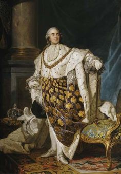 French King Louis XVI, (23 August 1754 – 21 January 1793)  Ill-fated husband of Marie-Antoinette, both lost their heads at guillotine in the French Revolution.