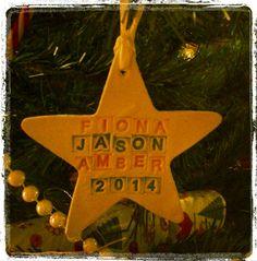 Christmas Tree Decoration  Hanging Star