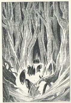 Illustration from the Hobbit