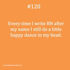 RN happy dance!