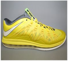 Air Max Lebron X Low - Sonic Yellow www.cheapshoeshub cheap nike free run  shoes 4ac561325