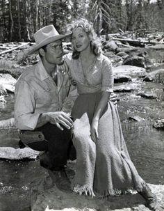 FORT DOBBS (1958) Clint Walker & Virginia Mayo