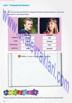 7. Sınıf İngilizce Pantera Yayınları Ders Kitabı Cevapları Sayfa 16   7. Sınıf İngilizce Pantera Yayınları Ders Kitabı Cevapları Sayfa 16 ... How To Be Outgoing, The Unit