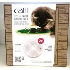 3 Litre Moderate Cost Objective Catit Original Flower Fountain With Water Level Window Cat Supplies Dishes, Feeders & Fountains