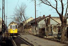 Budapest, 65-ös villamos Anno Domini, Train Tracks, Hungary, Budapest, Trains, Landscapes, Marvel, House Styles, City