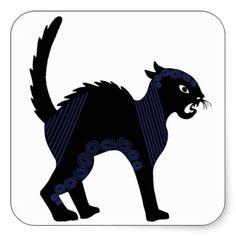 Halloween Black Cat - 2