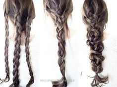 ▷ hairstyles for thin hair. Hairstyles for fine hair - cuts, volume tricks, styling - Haarfrisuren - Wedding Hairstyles Medium Hair Styles, Curly Hair Styles, Medium Hairs, Short Styles, Easy Hair Styles Long, Long Hair Easy Updo, Ponytail Easy, Hairdo For Long Hair, Long Ponytails