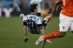 Holanda - Argentina: Lionel Messi