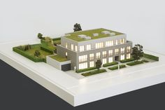 Project Ekeren - De Oude Post - 3d printed scale model by ZiggZagg - 3dprinting