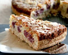 Cherry Coconut Cake - try this recipe!!  http://www.friessinger-muehle.com/recipes/cakes/cherry-coconut-cake.html