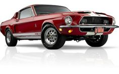 I would be the ecstatic if I ever had this in my possession, heck I'd be over joyed to drive this 1968 Shelby Mustang gt500 in candy apple red with white racing stripes:)