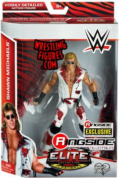 """""""Heartbreak Kid (HBK)"""" Shawn Michaels - Ringside Exclusive   Ringside Collectibles"""