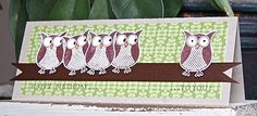owl card by Vicky Hayes