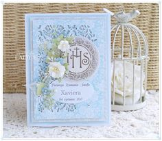 Scrapbooking, handmade cards and papercrafts by Lady E. Vintage, chipboards, shabby and more. Christian Cards, Explosion Box, Cute Cards, Handmade Cards, Holi, Cardmaking, Mixed Media, Shabby, Scrapbooking