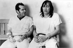Vol au-dessus d'un nid de coucou : Photo Jack Nicholson, Milos Forman, Will Sampson