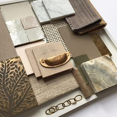 We asked some of our interior designer friends to share some of their favourite moodboards with us. Top 9 Luxury Interior Design Moodboards #moodboard #interiordesign