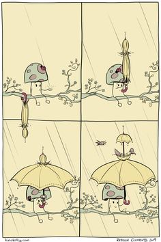 A Pleasant Shower | KinokoFry