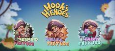 #Игральный #слот-#аппарат #Герои #Крюка (#Hook's #Heroes) Аппарат Hook's Heroes – продукт компании #NetEnt с простой, но красочной графикой, посвященный теме пиратства. В слоте сеть специальные символы, раунд с фриспинами, а также многочисленные дополнительные бонусные функции, которые разнообразят игровой процесс.