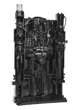 I would buy this lego set today and work on it all weekend. The artwork of H.R. Giger, recreated in LEGO bricks