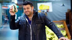 Root for the delicious New Orleans po boy tonight on the finale of Adam Richman's Best Sandwich in America! Best Sandwich, Food Journal, Man Vs, Rich Man, New Orleans, Sandwiches, Handsome, Leather Jacket, America