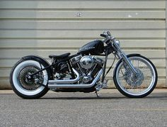 Quality Harley Davidson Bobber Motorcycle