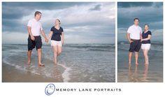 White and Navy beach wear
