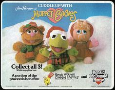 McDonald's Muppet Babies Holiday